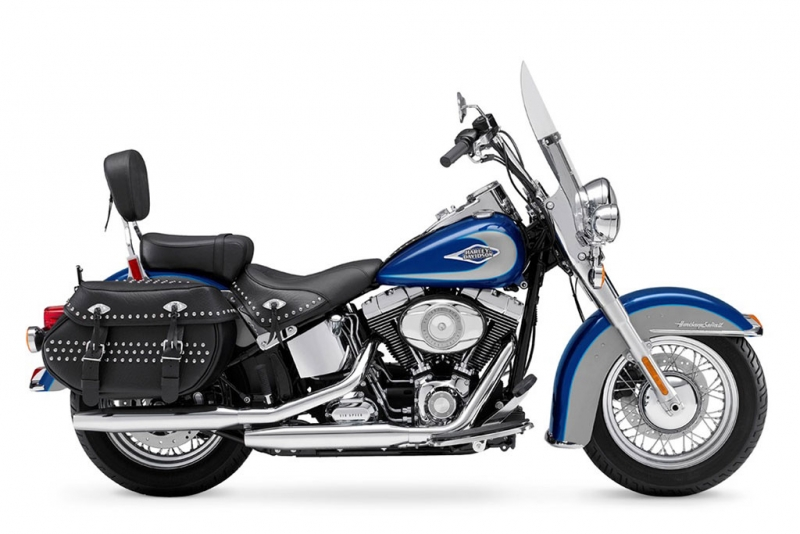 Harley-Davidson Heritage Softail Classic Blue