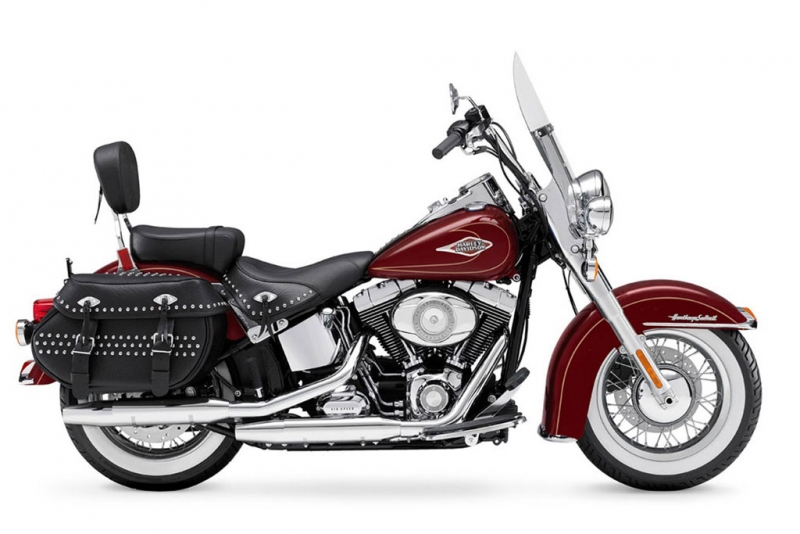 Harley-Davidson Heritage Softail Classic Red