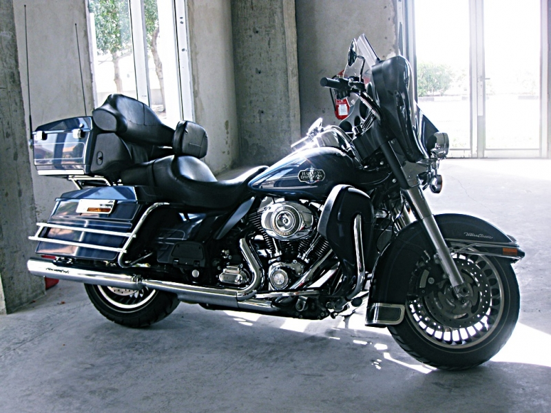 Harley-Davidson Ultra Classic Blue