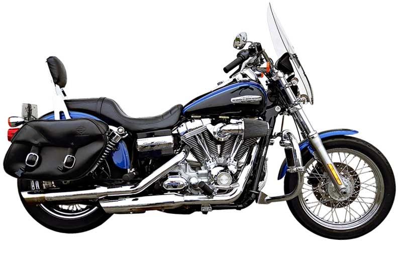 Harley Super Glide review - Motorbike Writer